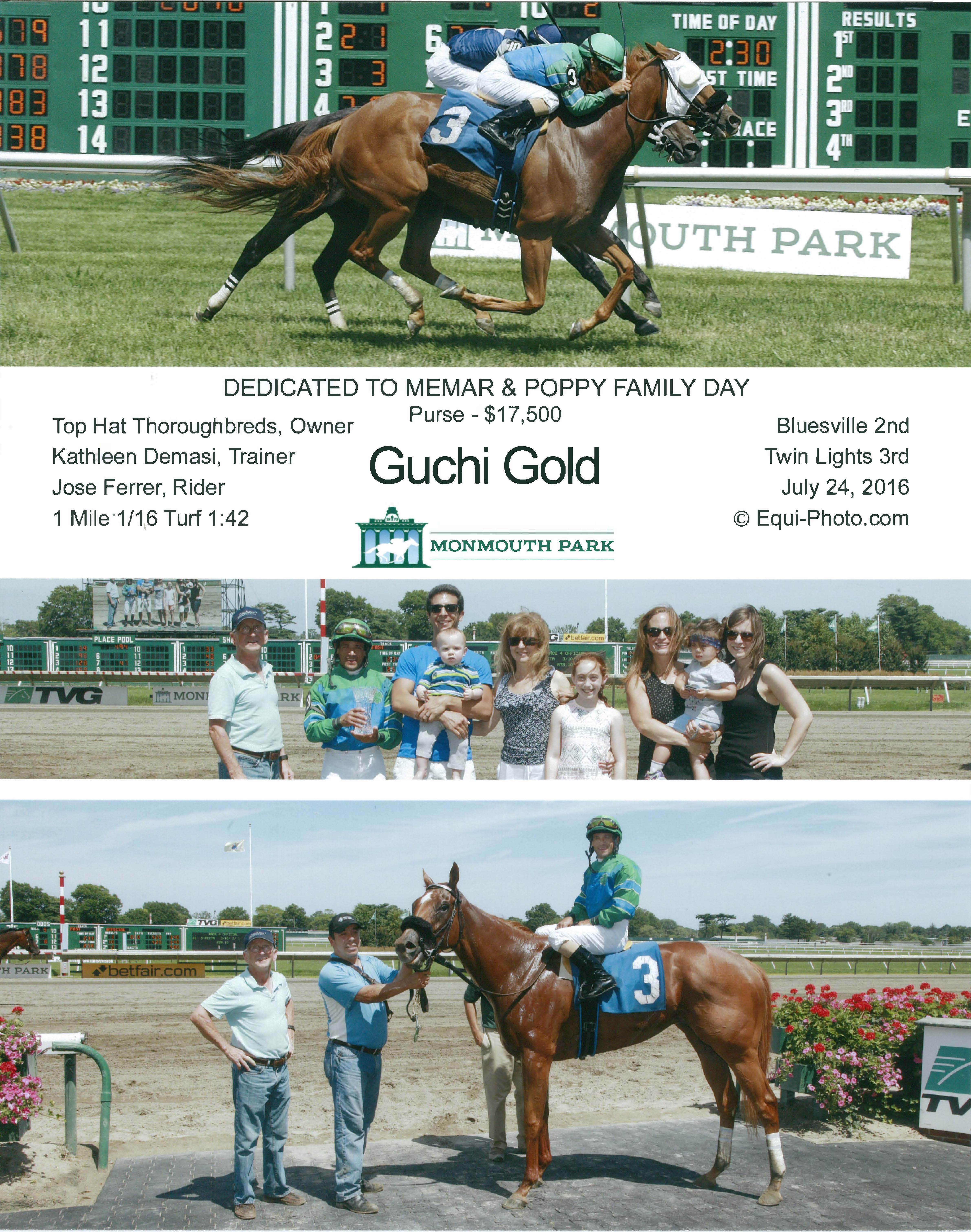 gucchi gold