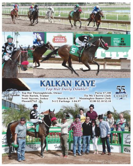 Kalkan Kaye 20170304_TurfParadise_R2_WinnersCircle