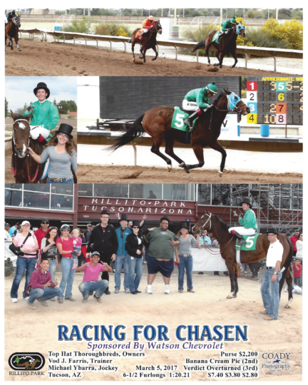 Racing For Chasen 20170305_Rillito_R7_WinnersCircle