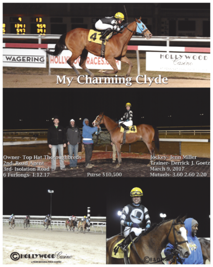 My Charming Clyde 20170309_PennNational_R7_WinnersCircle