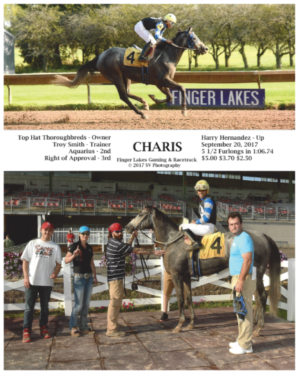 Charis 20170920_FingerLakes_R8_WinnersCircle