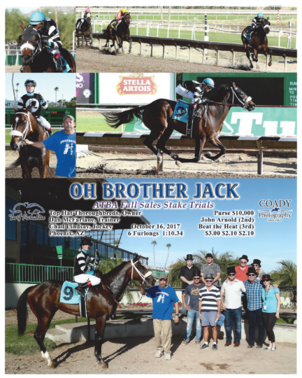 Oh Brother Jack 20171016_TurfParadise_R6_WinnersCircle