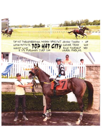Top Hat City 20170806_LaurelPark_R3_WinnersCircle