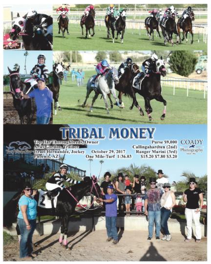 Tribal Money 20171029_TurfParadise_R7_WinnersCircle