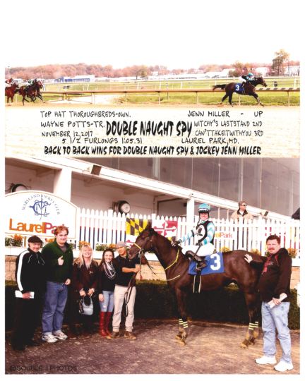 Double Naught Spy 20171112_LaurelPark_R3_WinnersCircle