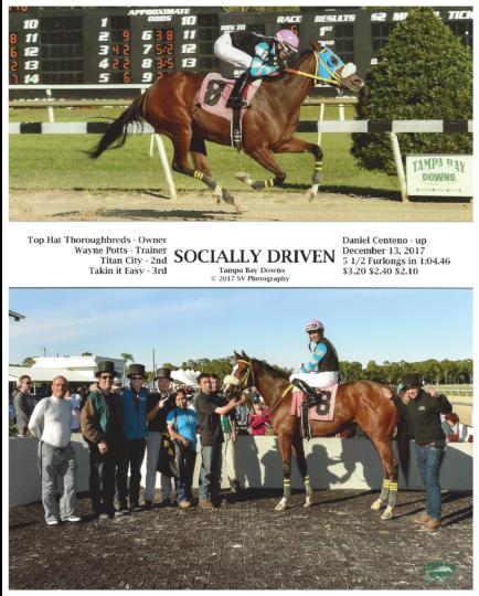 Socially Driven 20171213_TampaBay_R6_WinnersCircle