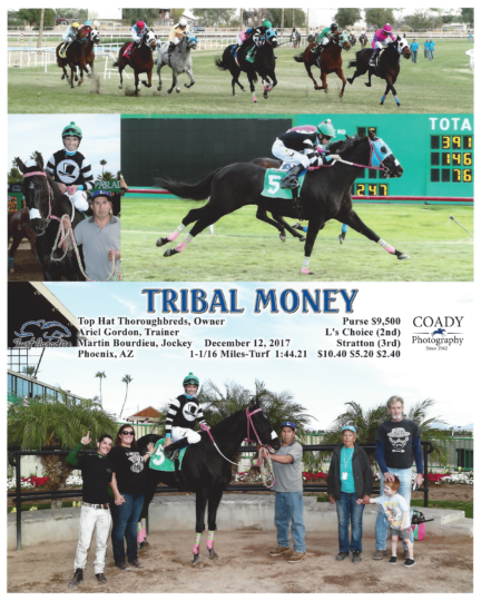Tribal Money 20171212_TurfParadise_R5_WinnersCircle