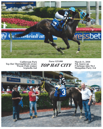 Top Hat City 20180311_GulfstreamPark_R6_WinnersCircle