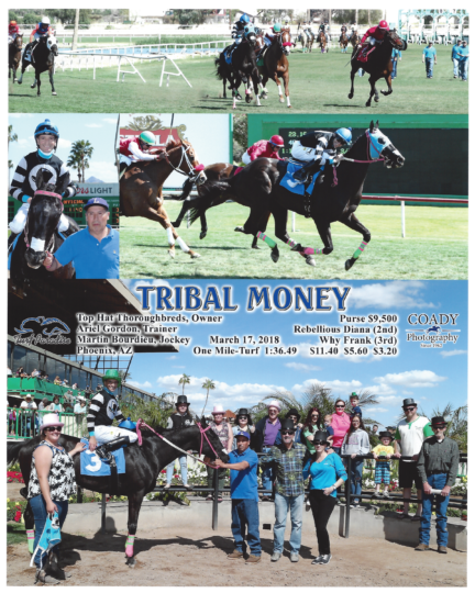 Tribal Money 20180317_TurfParadise_R2_WinnersCircle