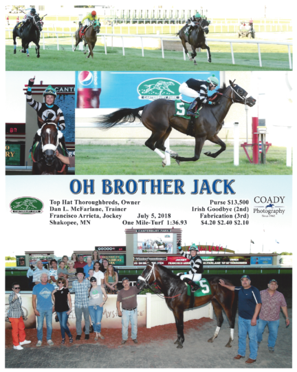 Oh Brother Jack 20180705_CanterburyPark_R4_WinnersCircle