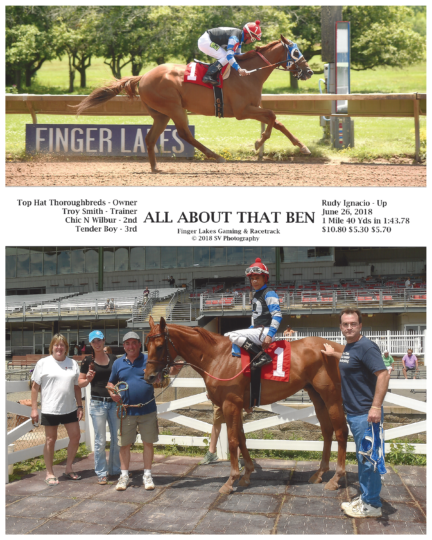 All About That Ben 20180626_FingerLakes_R1_WinnersCircle