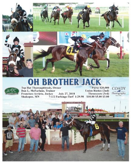 Oh Brother Jack 20180727_CanterburyPark_R3_WinnersCircle