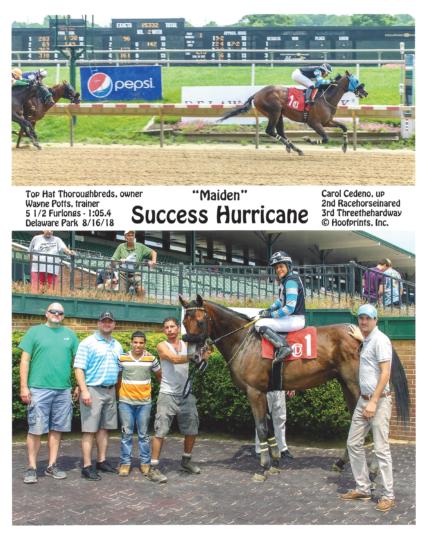 Success Hurricane 2018-08-16 Delaware Park R1