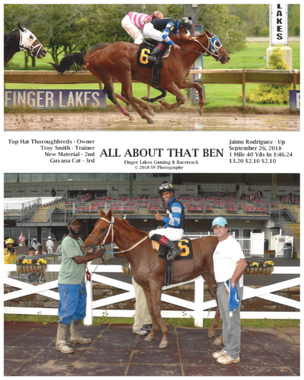 All About That Ben 20180926_FingerLakes_R4_WinnersCircle