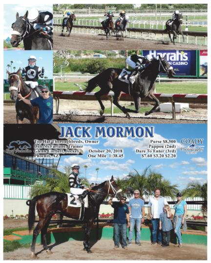 Jack Mormon C2_20181020_TurfParadise_R5_WinnersCircle