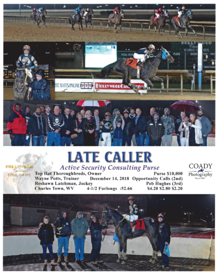 Late Caller 20181223_LaurelPark_R6_WinnersCircle