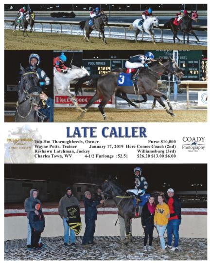 Late Caller 20190117_CharlesTown_R6_WinnersCircle