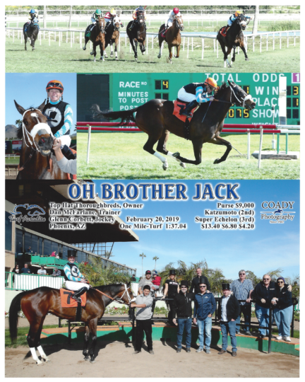 Oh Brother Jack 20190220_TurfParadise_R4_WinnersCircle