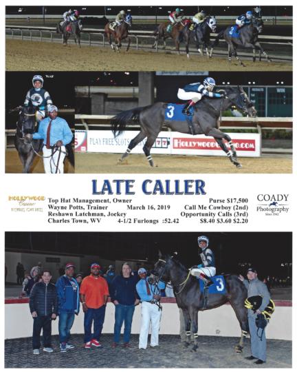 Late Caller 20190316_CharlesTown_R3_WinnersCircle