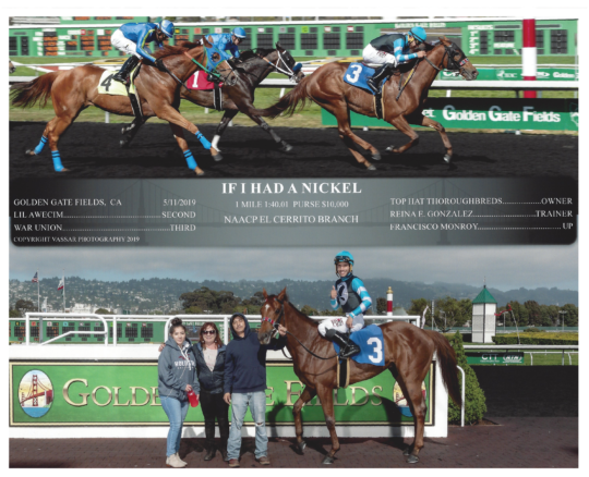 If I Had A Nickel 20190511 Golden Gate R7 WinnersCircle