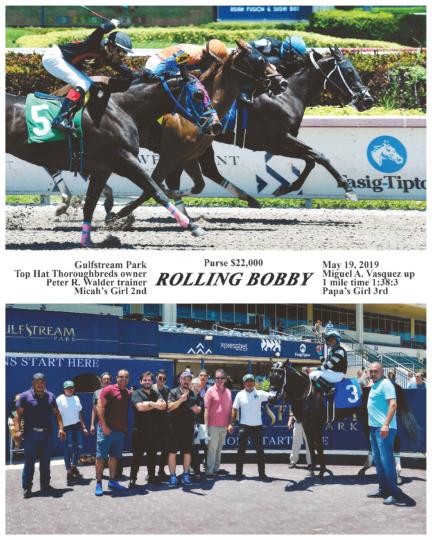 Rolling Bobby 2019-05-19 Gulfstream Park R2